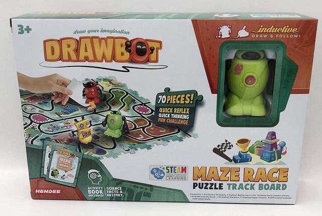Індуктивна іграшка Робот, їде по намальованій лінії, DB2-3, фото 2