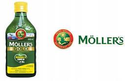 Mollers tran GOLD omega-3 норвежский рыбий жир 250 ml