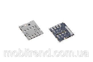 Сим коннектор для Asus ZenFone 5