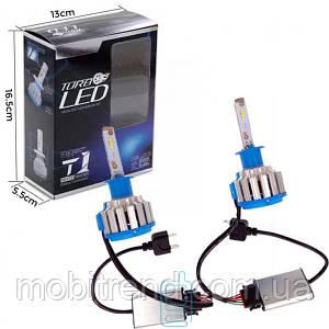 Автолампы светодиодные Turbo LED T1 H1 5000K 35W white