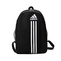 Рюкзак большой ADIDAS адидас школьный портфель мужской женский чоловічий жіночий  1128/20 черный