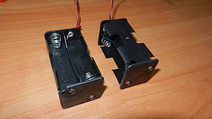 Батарейний відсік  АА x 2 шт кубік