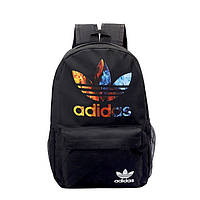Рюкзак большой ADIDAS адидас школьный портфель мужской женский чоловічий жіночий  6002/24