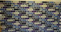 Декоративна пластикова листова панель ПВХ Регул Денім 0,3мм 948*48 мм