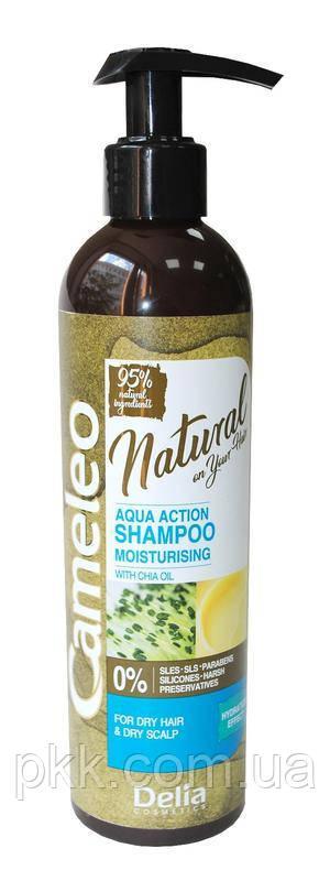 Шампунь для волос Delia Cosmetics CAMELEO NATURAL AQUA ACTION увлажняющий 250 мл