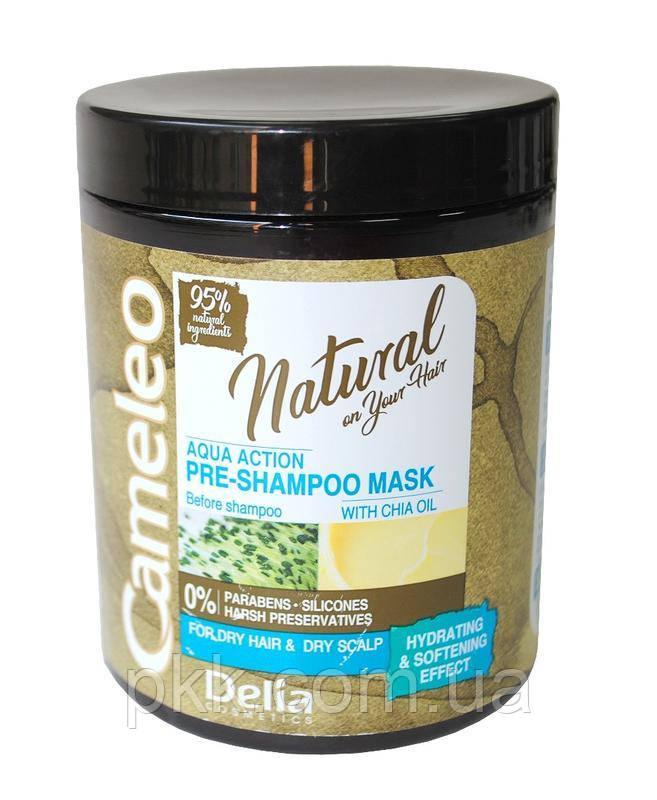 Очищающая пре-маска перед использованиям шампуня Delia Cosmetics CAMELEO NATURAL AQUA ACTION PRE-SHAMPOO MASK