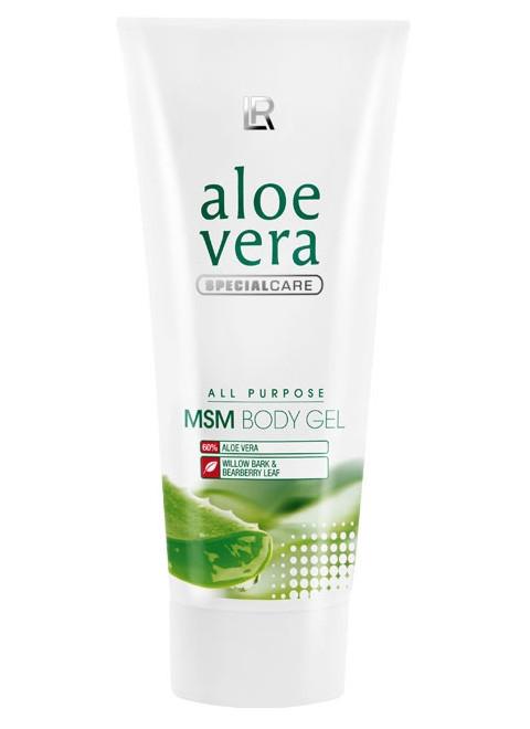Aloe Vera MSM Крем-гель для суставов с органической серой