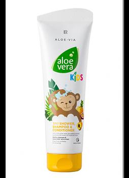 ALOE VIA Kids Шампунь-кондиционер для волос и тела