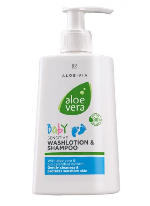 Aloe Via Aloe Vera Baby Детский шампунь-гель для купания