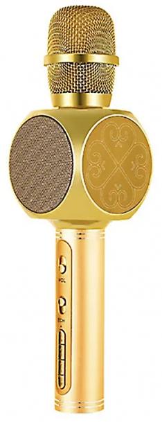 Караоке мікрофон з Bluetooth колонкою Magic Karaoke YS-63 Золотий