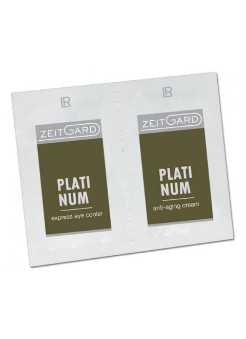 LR Zeitgard Platinum двойной тестер (крем.+ для век)