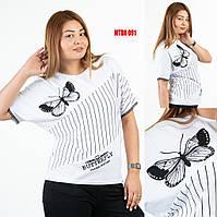 Женская футболка больших размеров Sogo (Турция) MTBK 091