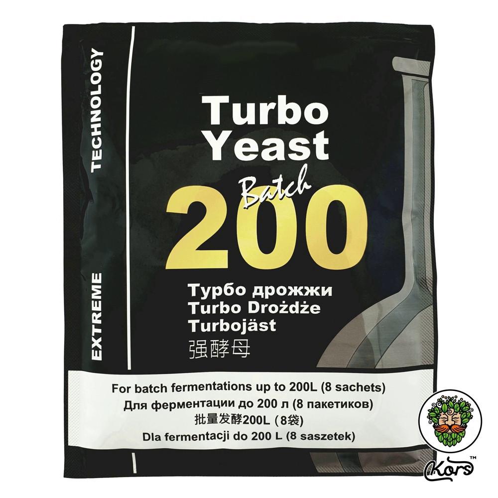 Сухие турбо дрожжи Turbo Batch 200