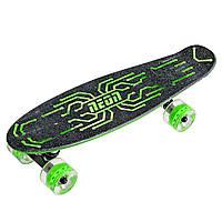Скейтборд Neon Hype Зеленый N100789 (N100789)