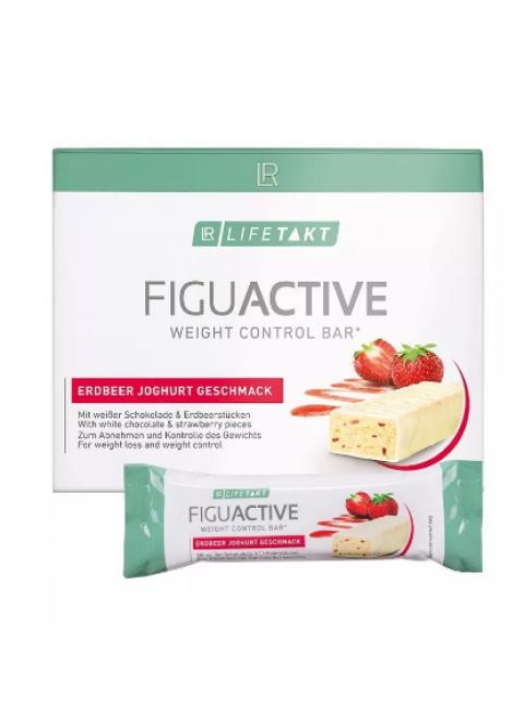 Figu Active Батончик для контроля веса со вкусом клубничный йогурт