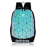 Рюкзак 3D Adidas Reflective адидас рефлективный школьный портфель мужской женский  010/33