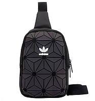 Мессенджер сумка через плечо 3D Adidas Reflective адидас мужская женская сумочка  4081/30