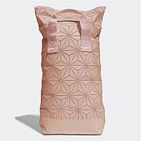 Рюкзак 3D Adidas Reflective адидас рефлективный школьный портфель мужской женский  004/55 Розовый