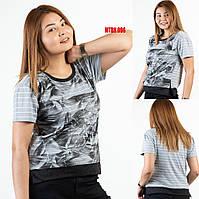 Красивая женская футболка больших размеров Sogo (Турция) MTBK 096