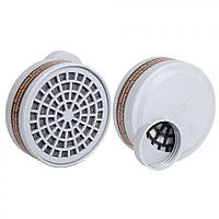 Фільтр вугільний для масок SAFETY PROTECTION 9400A (кріплення різьбове) к-т