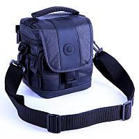 Сумка для фото и видео камеры Continent Сумка для фото и видео камеры FF-01 Blue синяя с плечевым ремнем