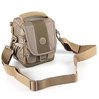Сумка для фото и видео камеры Continent Сумка для фото и видео камеры FF-01 Sand песочная с плечевым ремнем