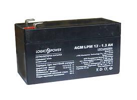 Аккумулятор 12 V  1.3 A AGM LPM
