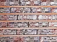 """Кирпич гипсовый""""IRAN TRAVERTIN"""" ULTRA VIOLET/ KLVIV DEKOR (0.38 м.кв.х 10 уп) Акция, фото 1"""