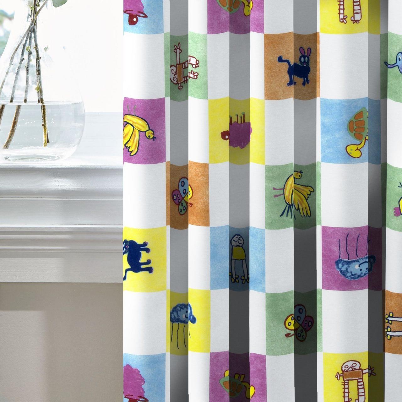 Комплект Декоративных Штор в детскую Испания Детские картинки, арт. MG-131073