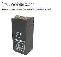 Аккумулятор   4 V  4 Аh  (100-46-46)
