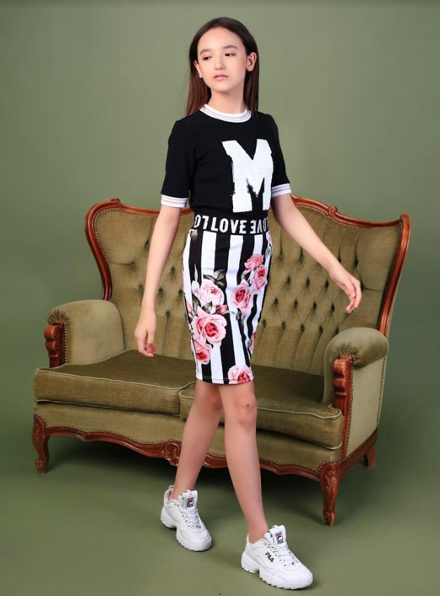 Летняя коллекция тм Моне 2020 г, юбка для девочки р-ры 146,152,164