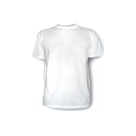 """Футболка мужская размер S для сублимации белая """"Джерси"""""""