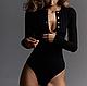 Жіноче боді Marilyn з довгим рукавом, фото 7