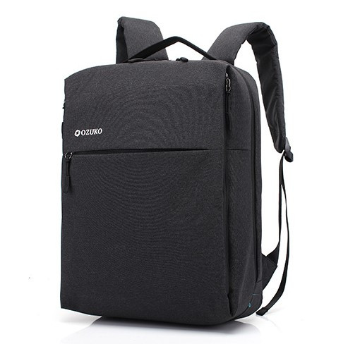 Рюкзак ранець Ozuko 8848 міський чорний 15л