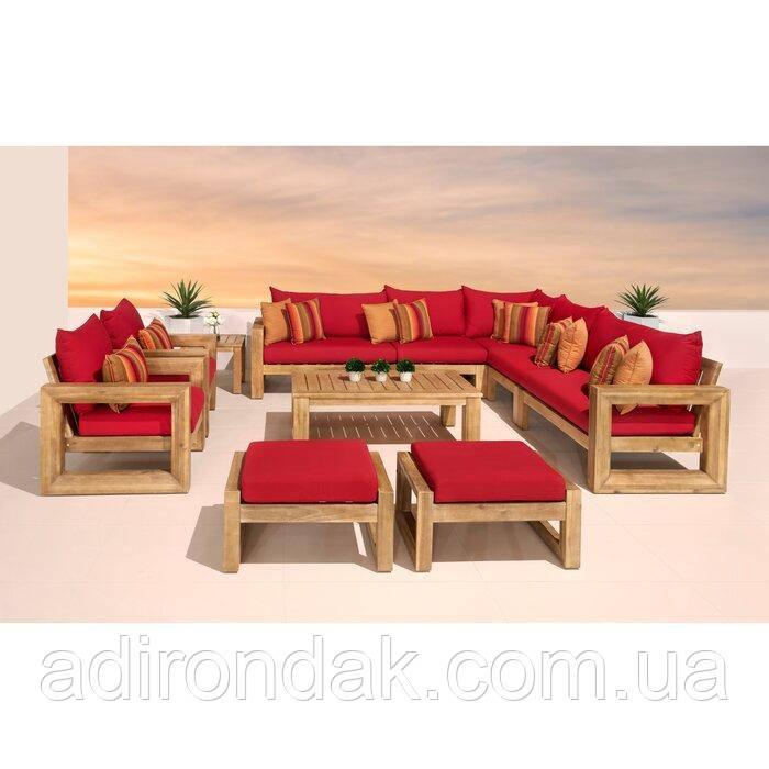 Набор садовой мебели Sunset Red