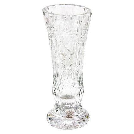 Хрустальная ваза для цветов Мельница, 19 см (5331)