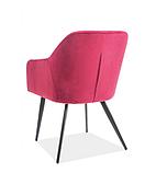 Кресло Elina Velvet (Элина Вельвет) бордовый, фото 2