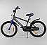 Велосипед 20 дюймов 2х колёсный CORSO ST-3202 стальная рама стальные противоударные диски звоночек, фото 2