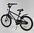 Велосипед 20 дюймов 2х колёсный CORSO ST-3202 стальная рама стальные противоударные диски звоночек, фото 3