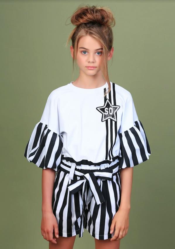 Блузка для девочки тм Моне лето 2020 года р-р 146,152,164