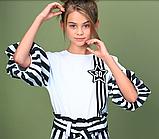 Блузка для девочки тм Моне лето 2020 года р-р 146,152,164, фото 3