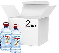 Упаковка воды питьевой детской негазированной Аквуля 6 л х 2 шт (4820123510134)