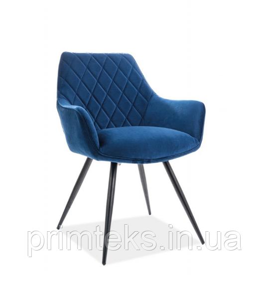 Кресло Linea Velvet ( Линеа Вельвет) тёмно-синий
