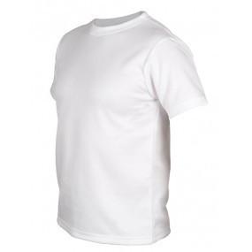 Футболка мужская размер M для сублимации белая ДВУХСЛОЙНАЯ