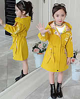 Куртка, пальто для дівчинки, вітровка .плащик на весну / детская куртка деми, пальто для девочки, плащ