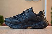 Кроссовки женские Balenciaga Track черные, Баленсиага Трек, дышащий материал, прошиты. Код OD-2889