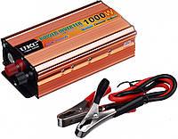 Преобразователь напряжения(инвертор) 24-220V 1000W Usb Gold