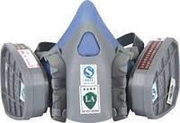 Маска захисна з фільтрами SAFETY PROTECTION 9400A (кріплення байонет)