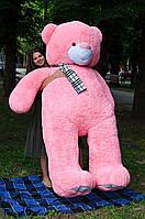Плюшевый мишка Ветли розовый 250 см.