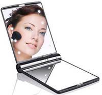 Косметическое карманное зеркало с подсветкой из светодиодов Led Light Mirror